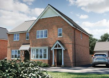 "Thumbnail 3 bed detached house for sale in ""The Yarkhill"" at Roman Road, Bobblestock, Hereford"
