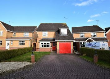 Thumbnail 4 bedroom detached house for sale in Riverstone Way, Hunsbury Meadows, Northampton