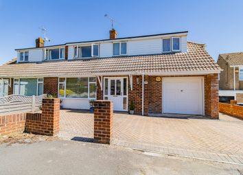 Thumbnail 4 bed semi-detached house for sale in Rosecroft Way, Shinfield, Reading