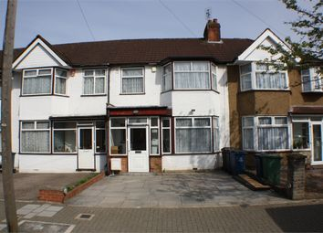 Thumbnail 4 bed terraced house to rent in Malvern Gardens, Harrow, Middlesex
