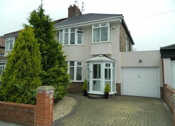 Thumbnail 3 bedroom semi-detached house for sale in Edgemoor Road, Liverpool
