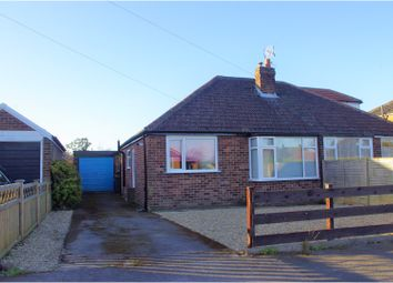 Thumbnail 3 bed semi-detached bungalow for sale in Kirkham Road, Harrogate