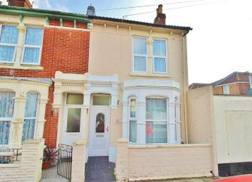 Thumbnail 3 bed terraced house for sale in Folkestone Road, Portsmouth