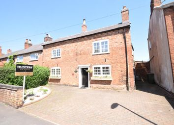 Thumbnail 3 bed end terrace house for sale in Main Street, Kilby, Wigston