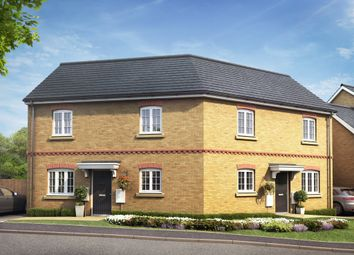 Thumbnail 2 bedroom semi-detached house for sale in Fen Lane, Sawtry, Huntingdon
