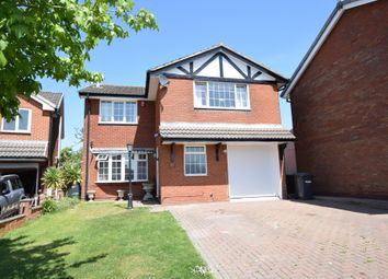 Thumbnail 4 bed detached house for sale in Sterndale Drive, Clayton, Newcastle-Under-Lyme
