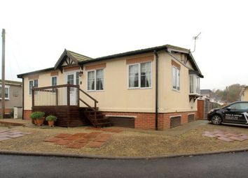 Thumbnail 2 bedroom mobile/park home for sale in Iford Bridge Home Park, Old Bridge Road, Iford, Bournemouth