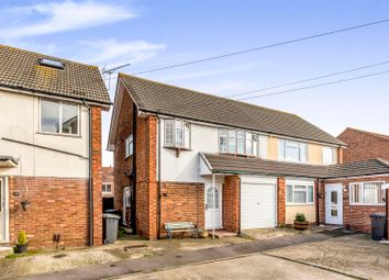 Thumbnail 3 bed semi-detached house for sale in Eastbrook Close, Gosport