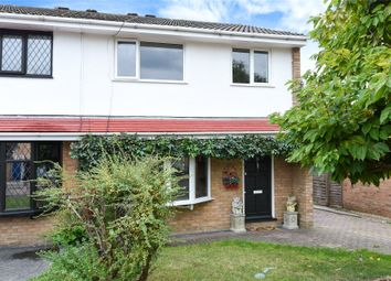 Thumbnail 3 bed semi-detached house for sale in Trinity, Owlsmoor, Sandhurst, Berkshire