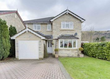 Thumbnail 4 bed detached house to rent in Hollinview Close, Reedsholme, Rossendale