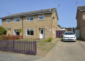 Thumbnail 3 bed semi-detached house for sale in Weir Place, Kirton, Ipswich