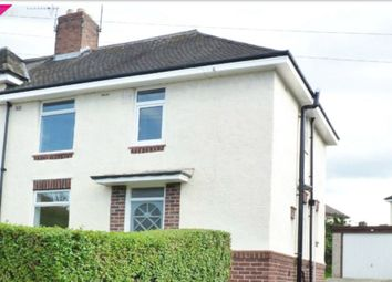 Thumbnail 3 bed semi-detached house to rent in Godric Road, Sheffield