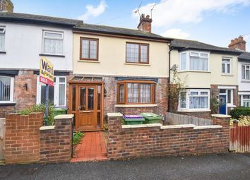 Thumbnail 3 bed terraced house for sale in Dawson Road, Folkestone