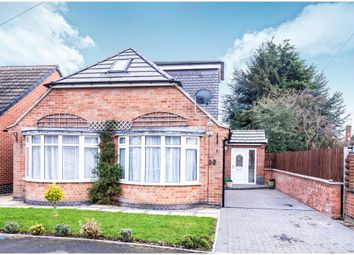 Thumbnail 2 bed detached bungalow for sale in Percy Street, Braunstone Town, Leicester