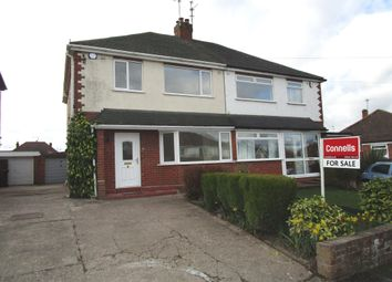 Thumbnail 3 bedroom semi-detached house for sale in Bhylls Crescent, Castlecroft, Wolverhampton
