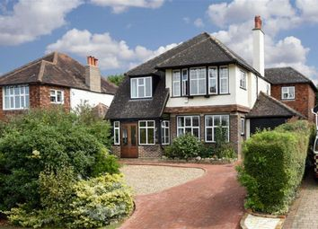 Thumbnail 5 bed detached house for sale in Hambledon Hill, Epsom, Surrey