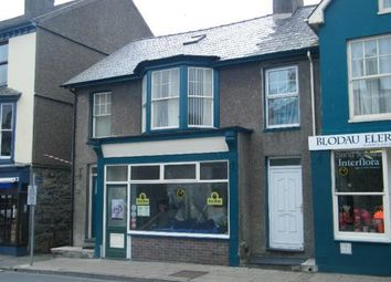 Thumbnail 4 bed town house for sale in High Street, Criccieth, Gwynedd