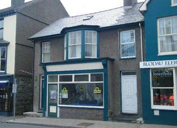 Thumbnail 4 bed town house for sale in High Street, Criccieth, Gwynedd