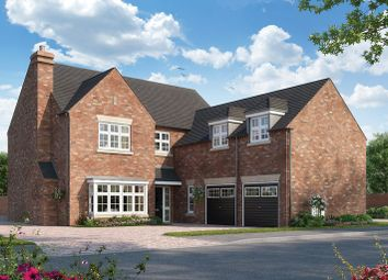 Thumbnail 5 bed detached house for sale in The Woodlands, Adel Lane, Leeds