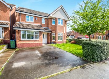 Thumbnail 4 bed detached house for sale in Bellflower Drive, Walsall