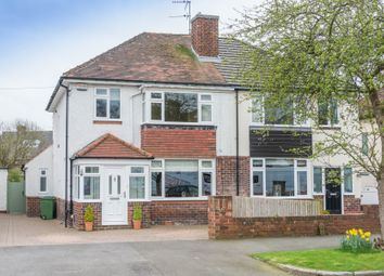 Thumbnail 3 bed semi-detached house for sale in The Meadway, Dore