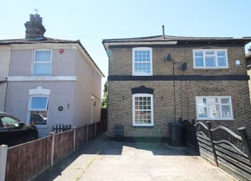 Thumbnail 3 bed semi-detached house to rent in Albert Road, Romford