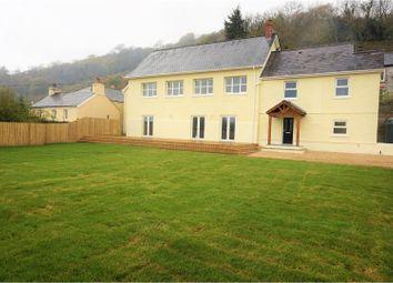 Thumbnail 4 bed detached house for sale in Llanfyndd, Camarthen