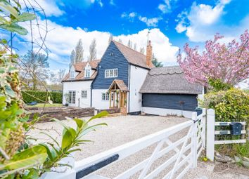 Thumbnail 4 bed cottage for sale in Braintree Road, Stebbing, Dunmow