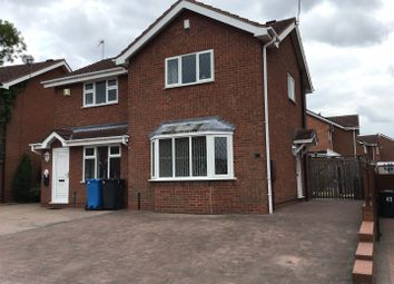 Thumbnail 2 bed semi-detached house for sale in Redwing Drive, Huntington, Cannock
