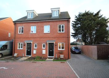 Thumbnail 3 bed town house for sale in Malkin Close, Ipswich