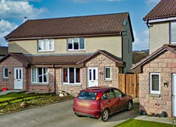 Thumbnail 2 bed detached house to rent in 35 Duncan Road, Tarland, Aberdeenshire