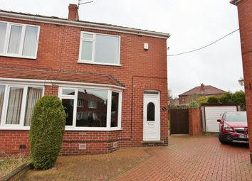 Thumbnail 2 bed semi-detached house for sale in West Avenue, Wombwell, Barnsley