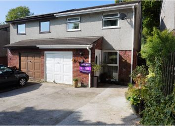 Thumbnail 4 bedroom semi-detached house for sale in Drakes Close, Plymouth