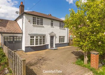 Thumbnail 4 bed detached house for sale in Sandridge Road, St Albans, Hertfordshire