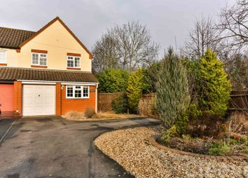 Thumbnail 3 bed semi-detached house for sale in Stoke Road, Bishops Cleeve, Cheltenham