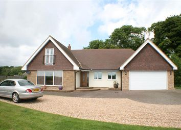 Thumbnail 4 bed detached house for sale in Newington, Folkestone, Kent