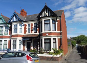 Thumbnail 3 bed end terrace house for sale in Trafalgar Road, Roath, Cardiff