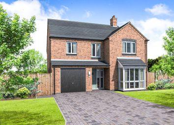 Thumbnail 5 bedroom detached house for sale in Plot 6 Edingale, Coton Road, Rosliston, Swadlincote
