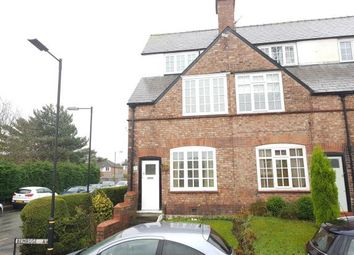 Thumbnail 3 bed end terrace house for sale in Bemrose Avenue, Broadheath, Altrincham, Greater Manchester