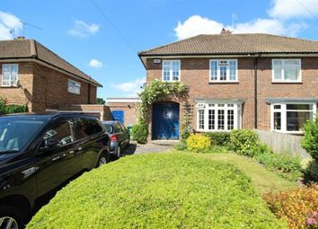 Thumbnail 3 bed semi-detached house to rent in Leonard Avenue, Otford, Sevenoaks