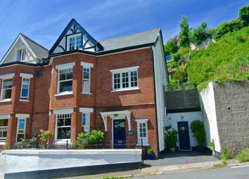 Thumbnail 4 bed semi-detached house for sale in Jackdaw House, 3 Vicarage Hill, Dartmouth, Devon