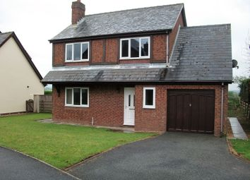 Thumbnail 4 bed detached house to rent in Tudor Gardens, Haverfordwest
