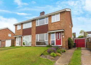 Thumbnail 3 bed semi-detached house for sale in Coltsfoot Drive, Royston