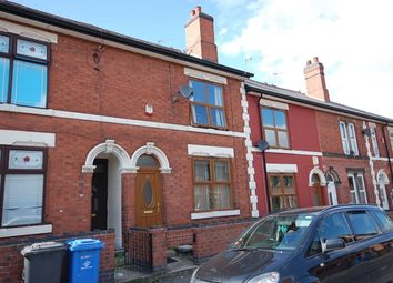 Thumbnail 2 bedroom terraced house for sale in Grange Street, Derby