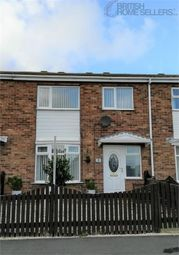 Thumbnail 3 bed terraced house for sale in Fountains Close, Whitby, North Yorkshire