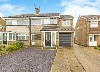 Thumbnail 4 bed semi-detached house for sale in Widecombe Walk, Ferryhill