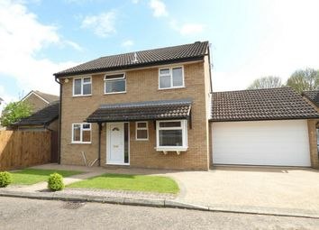Thumbnail 4 bed detached house for sale in Stokesay Court, Longthorpe, Peterborough, Cambridgeshire