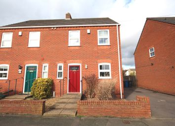 Thumbnail 3 bed semi-detached house for sale in Cross Street, Burntwood