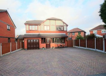 Thumbnail 4 bed detached house for sale in Clough House Drive, Leigh, Lancashire