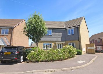 Thumbnail 4 bedroom detached house for sale in Eleanor Close, Dartford